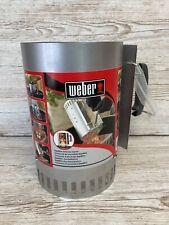 Weber bbq Chimney Starter Never Used