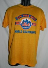 VINTAGE NEW YORK METS 1986 WORLD CHAMPIONS MEN'S T SHIRT SIZE LARGE