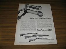 1962 Print Ad Remington Model 700, 760, 742 Rifles Made in Bridgeport,CT