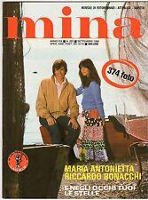 fotoromanzo MINA ANNO 1980 NUMERO 222 ANTONIETTA BONACCHI