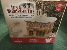 Enesco - Bijou Theatre Ornament - It's A Wonderful Life