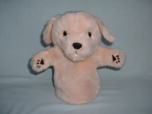 THE PUPPET COMPANY GOLDEN LABRADOR PUPPY DOG Hand Glove Puppet Soft Plush Toy
