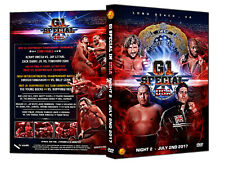 Official NJPW New Japan Pro Wrestling : G1 Special in USA 2017 - Night 2 DVD
