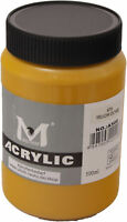 500 ml Magi Künstler Acrylfarbe yellow ochre 676