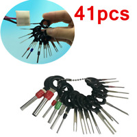41PCS Wiring Connector Extractor Car Terminal Pin Removal Puller Release Tool