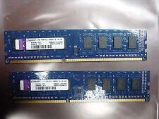 Kingston 4GB (2x2GB) PC3-10600U DDR3 1333MHz 1Rx8 Desktop RAM