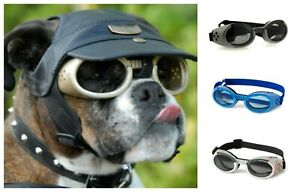 DOGGLES ILS DOG GOGGLES SUNGLASSES UV PROTECTION EYE WEAR ANTI FOG SHATTERPROOF