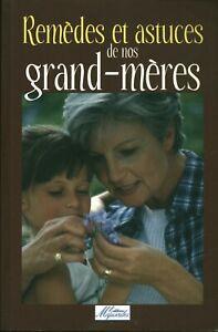 Livre remèdes et astuces de nos grands-mères Anagramme 2006 book
