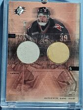 2000 DOMINIK HASEK GAME JESERY and STICK COMBO UD SPX WINNING MATERIALS Sabres