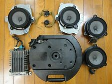Bose 8-Piece Car Sound System *Powered Speakers Nissan Murano 2003-2007