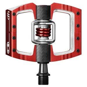 Crank Brothers Mallet DH Bike Pedals for Downhill Racers, Red