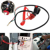 Outboard Cut off Switch Safety Tether Lanyard Boat Motor Emergency Kill S bf