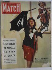 Paris Match n°353 de 1956 - Les fiancés de Monaco Rainier et Grace - Moscou
