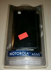 New Premium Hard Shell Snap On Cover Case for Motorola Devour A555