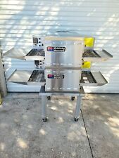 2016 Middleby Marshall Double Stack Electric 18 Conveyor Pizza Ovens Ps520e