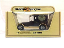 Matchbox Models of Yesteryear Y5 1927 Talbot Wrights Coal Tar Soap