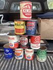 old oil can collection