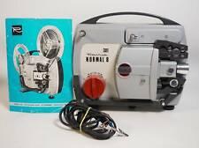 Vintage Revue 301 Normal 8 8mm Schmalfilmprojektor mit Anleitung + Tasche