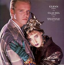 """Claudia Brucken & Glenn Gregory When Your Heart Runs Out Of Time  Uk 12"""""""