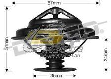 DAYCO Thermostat FOR Audi A4 1/97-6/01 2.8L V6 30V MPFI B5 142kW APR
