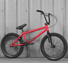 "2020 SUNDAY BIKE BMX BLUEPRINT 20"" BICYCLE MATTE RED 20"" Toptube"
