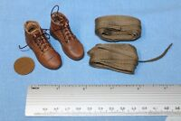 DID DRAGON IN DREAMS 1:6TH SCALE WW1 U.S. INFANTRY BOOTS AND PUTTIES  BUCK
