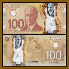 Canada 100 Dollars, 2011 P.110 Polymer Unc