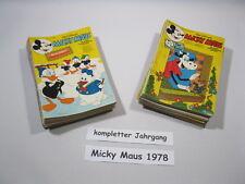 Micky Maus  Jahrgang 1978 / Nr. 1-52 komplett  Ehapa Verlag  70331