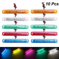 10Pcs Red 9 SMD LED Truck lights led side Car Truck Bus Marker Lamp 12V 24V