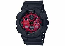 Casio G-Shock Special Color Adrenaline Black x Red Dial x Grey Accents Watch