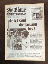 AR zur II. BL 85/86 TSV 1860 München - Kickers Offenbach, 24.05.1986