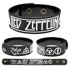 Led Zeppelin wristband rubber bracelet v1
