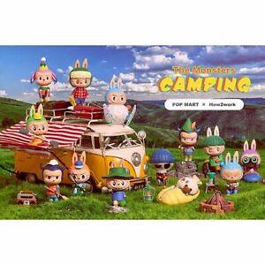 Labubu The Monsters Camping Series Vinyl Figure Pop Mart How2Work Travelling Set
