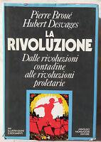 "Pierre Broué Hubert Desvages ""La rivoluzione"" Mondadori"