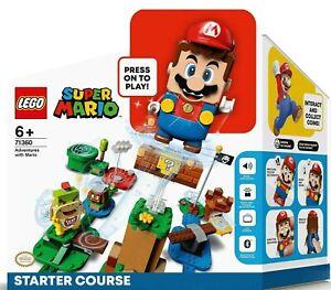 71360 LEGO Super Mario Adventures Starter Course Toy Interactive Figure