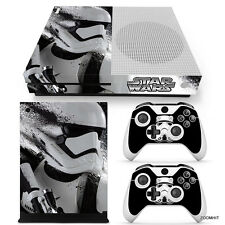 Xbox One S Console Skin Decal Sticker Star Wars StormTrooper Custom Design Set