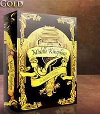 Middle Kingdom (Gold) Playing Cards Printed by US Playing Card Co Murphy's Magic
