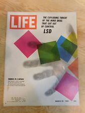 Life magazine march 25 1966 mind drug lsd
