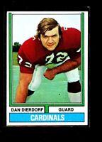 1974 TOPPS #32 DAN DIERDORF CARDINALS ROOKIE EXMINT E0875