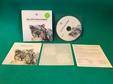Apple Mac OS X 10.6 Snow Leopard DVD With Original Box - Pre-Owned