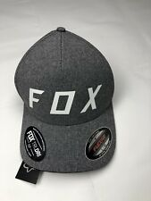 633a9a405 FOX Men s Women s Ball Cap Gray L XL Nylon Polyester Spandex NEW