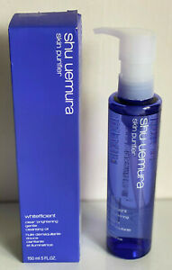 SHU UEMURA WHITEFFICIENT CLEAR BRIGHTENING GENTLE CLEANSING OIL MAKEUP REMOVER
