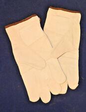 DOZEN Goat Skin Gloves, Reinforced Palm, Cloth Back,  SZ- XL G006