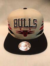 Chicago Bulls Mitchell & Ness Snapback Cap Beige/Black