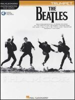 The Beatles Instrumental Play-Along for Trumpet Sheet Music Book with Audio