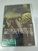 RICKY MARTIN - MTV UNPLUGGED - DVD + CD - 2006 - ALL REGIONS - Nuevo - AM