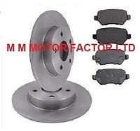 Vauxhall Zafira Mk1 |98-05| 1.6, 1.8, 2.0 & 2.2 DTI 16v Rear Brake Discs & Pads