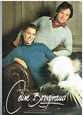 Publicité Advertising 1980 Pret a porter les vetements Céline Bongiraud