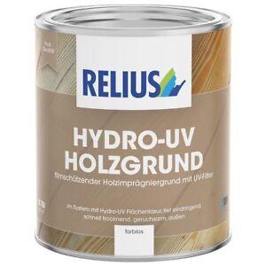 Relius Hydro-UV Holzgrund farblos, 2,5 L,  UV-Filter, wasserbasiert