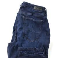 AG Adriano Goldschmied Womens 30 The Prima Cigarette Leg Dark Wash Stretch Jeans